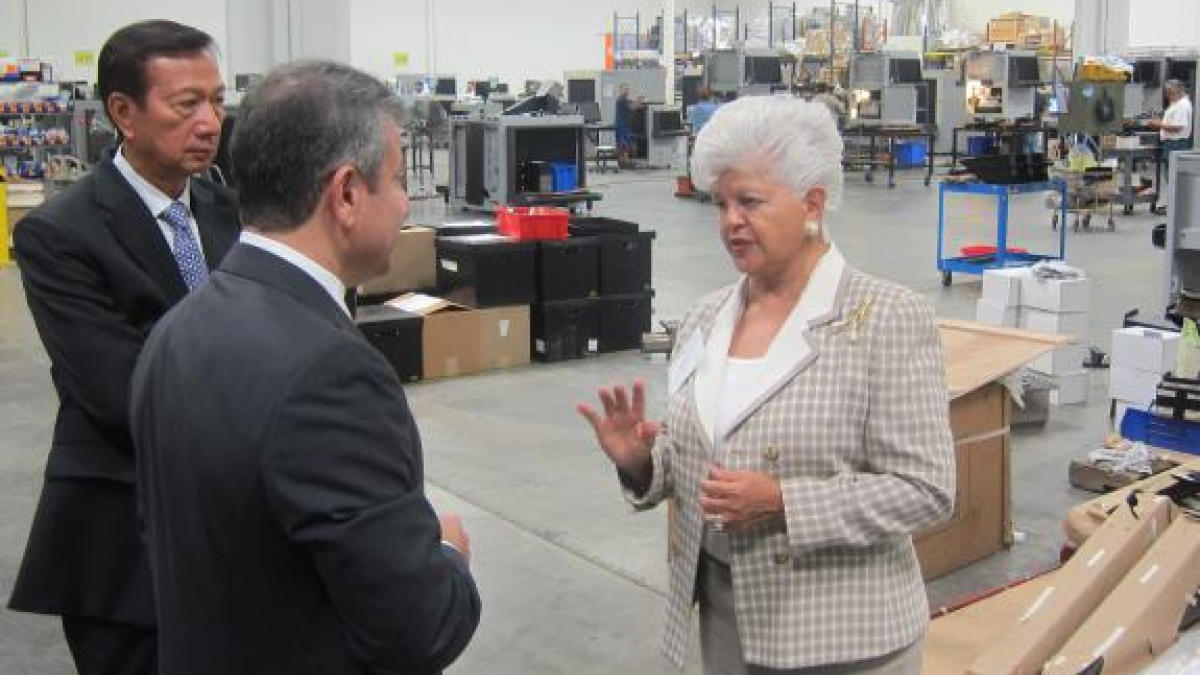 Rep. Napolitano Visits X-Ray Security Small Business in Industry