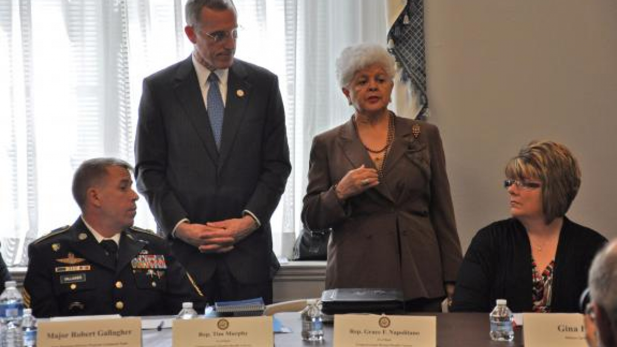 Mental Health Caucus Hosts Briefing on Military Mental Health