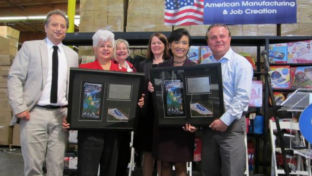 Rep. Napolitano Joins Local Manufacturer in Welcoming Jobs Back to the U.S.