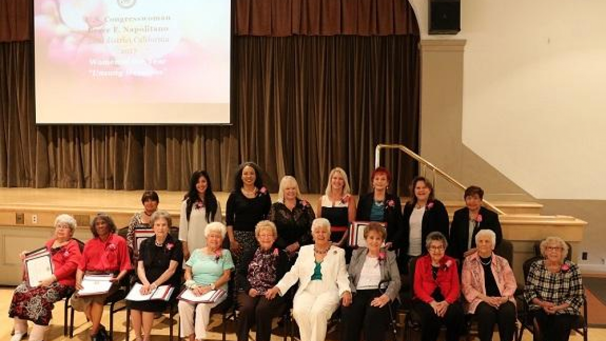 "Napolitano Honors 2017 ""Unsung Heroines"" Women of the Year"