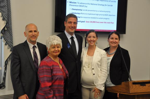Rep. Napolitano Co-hosts National Action Alliance for Suicide Prevention