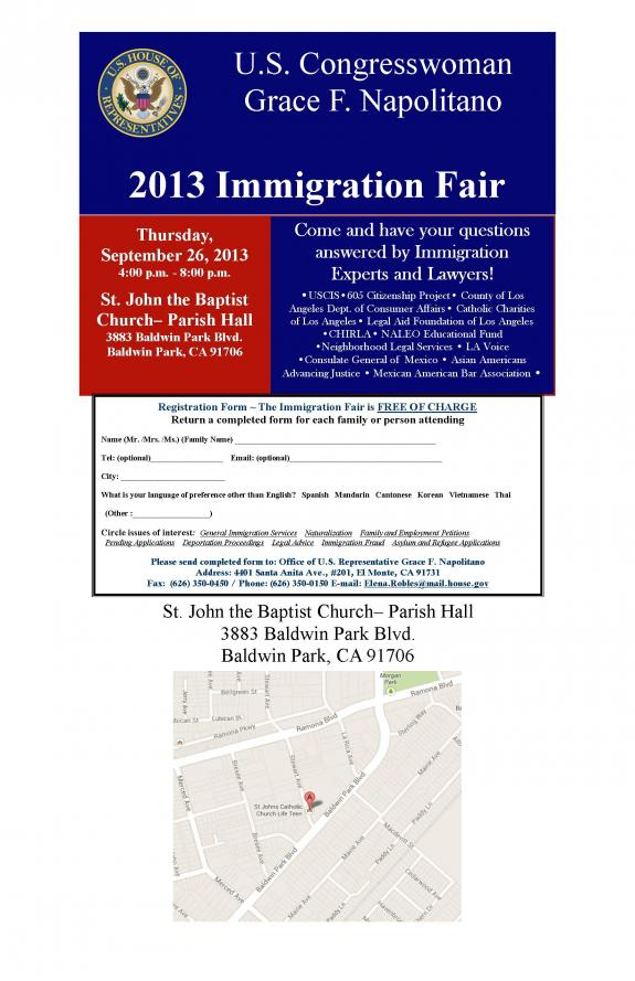 2013 Immigration Fair