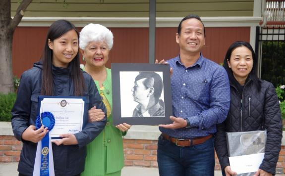 Napolitano Honors Local Students in 2017 High School Art Contest