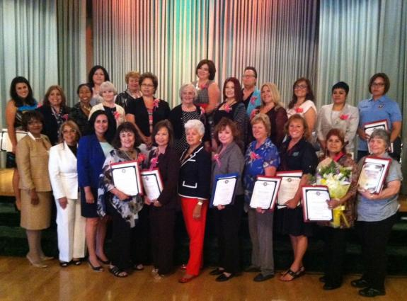 "Rep. Napolitano Honors 2014 ""Unsung Heroines"" Women of the Year"
