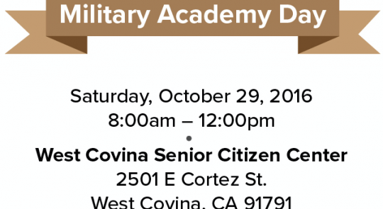 Rep. Napolitano to Host Military Academy Day feature image