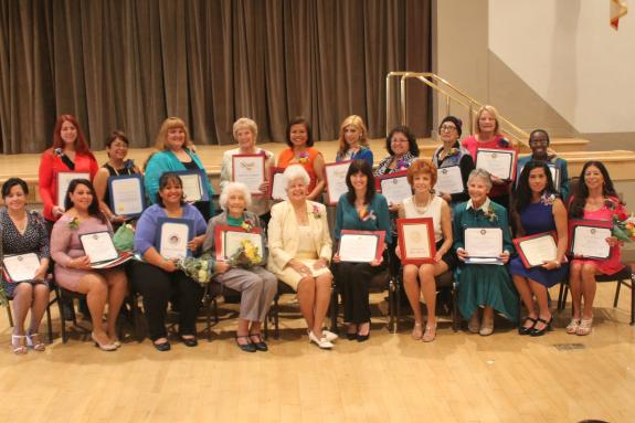 "Rep. Napolitano Honors 2015 ""Unsung Heroines"" Women of the Year"