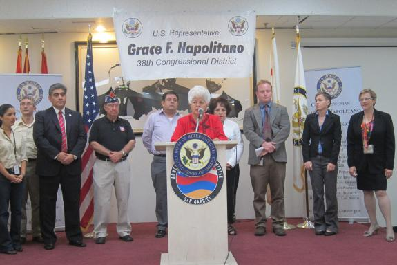 Rep. Napolitano Hosts Immigration Clinic
